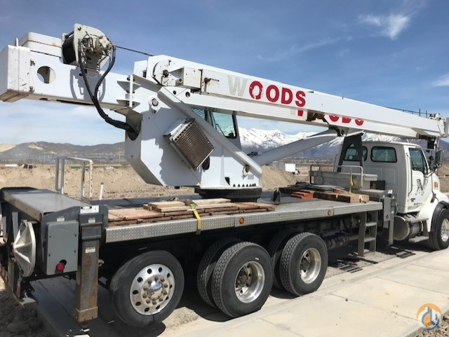 Sold 2007 Manitex 50 ton Crane for  in Saratoga Springs Utah on CraneNetwork.com