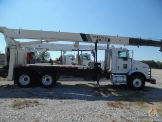 2009 National 9103RM on A 2009 Kenworth T-800 Cassis Crane for Sale in Tampa Florida on CraneNetworkcom