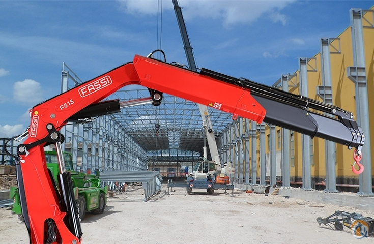 Sold New 2018 Fassi F515RA e-dynamic knuckle boom crane