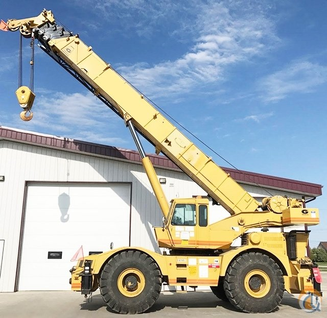 1981 Grove RT755 Rough Terrain CBJ882 Crane for Sale on CraneNetworkcom