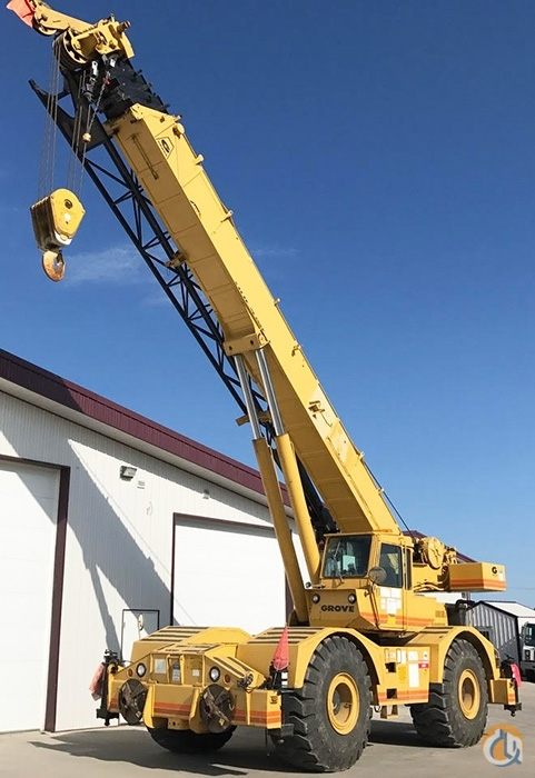 1981 Grove RT755 Rough Terrain CBJ882 Crane for Sale on CraneNetwork.com