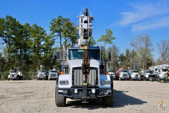 2015 Manitex 50128S mounted to 2015 Kenworth T800 chassis Crane for Sale in Brighton Colorado on CraneNetwork.com