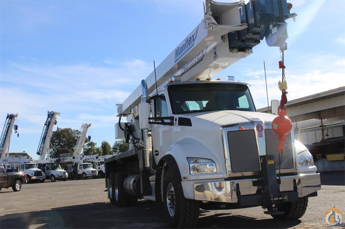 2019 MANITEX 40124SHL Crane for Sale or Rent in Sacramento California on CraneNetwork.com