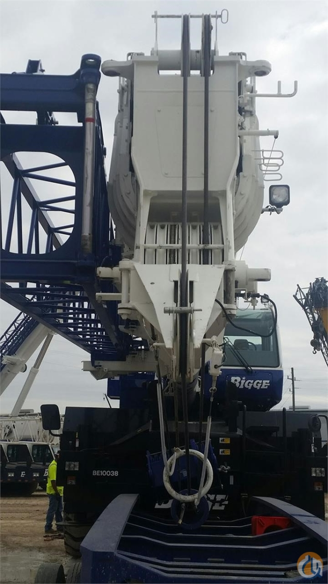 2015 TADANO GR1000XL-2 Crane for Sale in Houston Texas on CraneNetwork.com