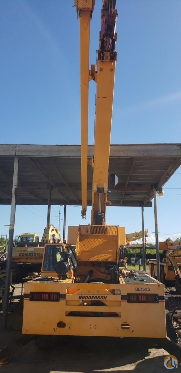 2010 BRODERSON IC200-3G Crane for Sale in Houston Texas on