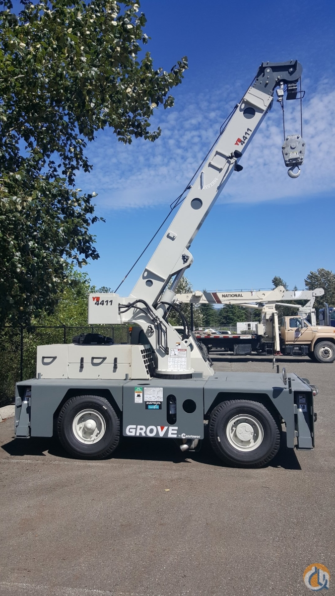 Yard Boss Industrial Cranes : Grove yb crane for sale in arlington washington