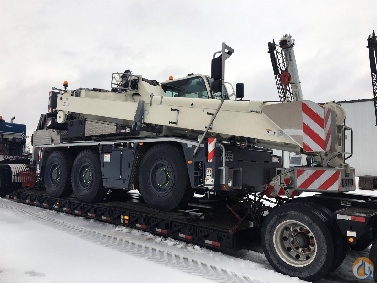 2019 DEMAG AC45 CITY Crane for Sale in Bridgewater New Jersey on CraneNetwork.com
