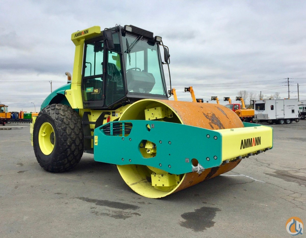 2013 AMMANN ASC110D Smooth Drum AMMANN ASC110D Consultants F. Drapeau Inc. 20486 on CraneNetwork.com