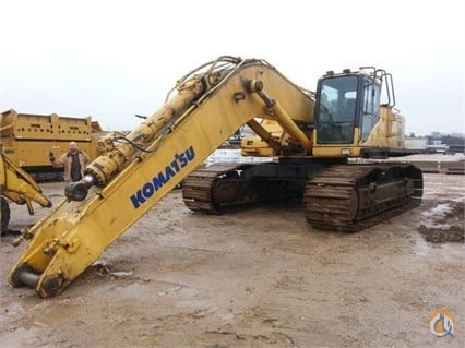 2004 Komatsu PC600 LC-7 Crawler KOMATSU PC600 LC-7 Big D Heavy Equipment 241 on CraneNetwork.com