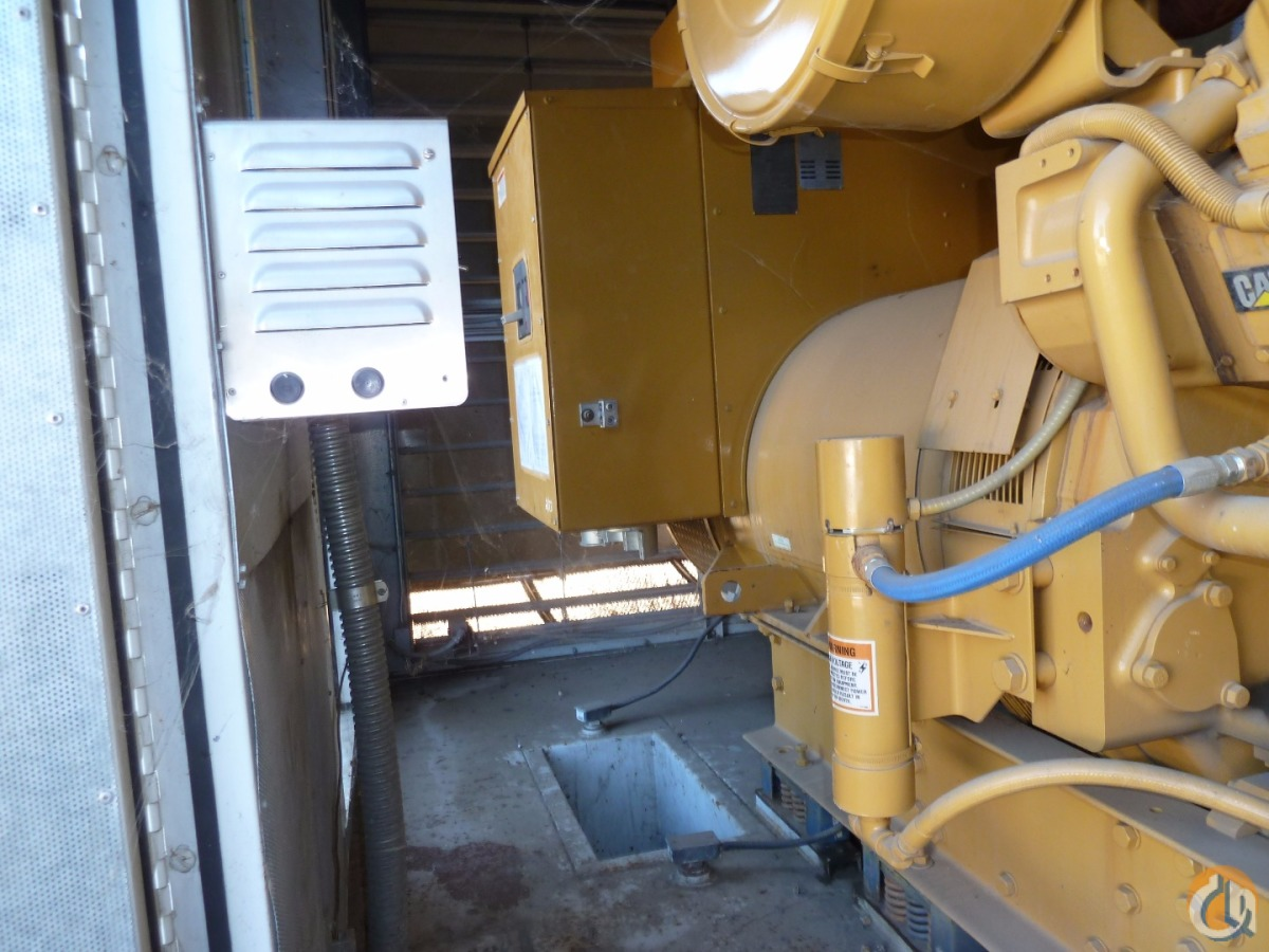 CAT 3512 DITA 1250KW Generator Generator Sets CATERPILLAR 3512 DITA ShankBalfour Beatty 19308 on CraneNetwork.com