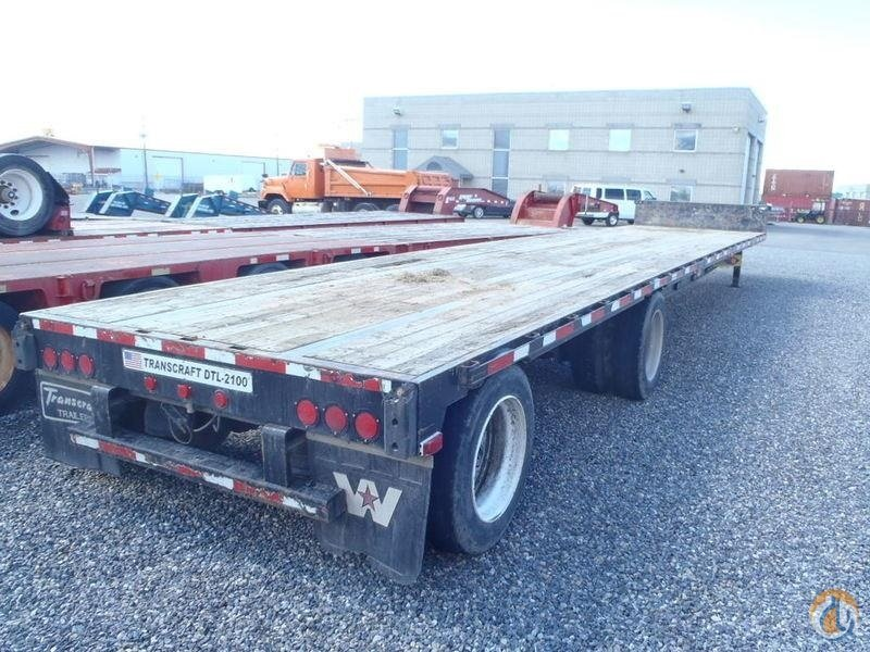 2011 TRANSCRAFT DTL-2100 Trailers TRANSCRAFT DTL 2100 Equipment Sales Inc. 18247 on CraneNetwork.com