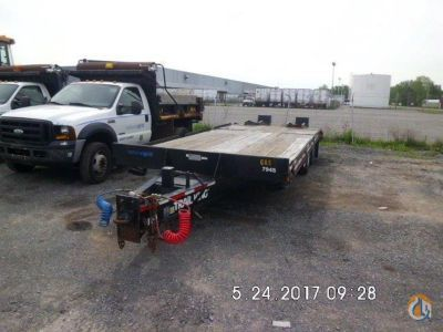 2005 Trail King TK24LP Flatbed Trucks  Trailer TRAIL KING TK24LP J.J. Kane Auctioneers 23383 on CraneNetwork.com