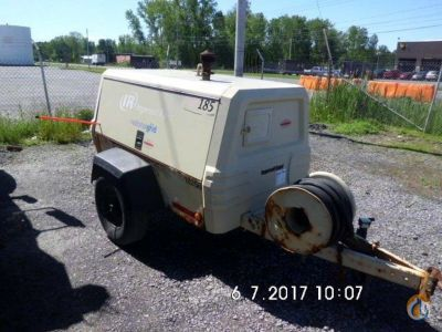 2007 INGERSOLL-RAND XP185WJD Air Compressors INGERSOLL-RAND XP185WJD J.J. Kane Auctioneers 22195 on CraneNetwork.com