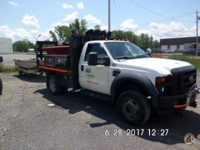 2008 Ford F450 4x4 Flatbed Trucks  Trailer FORD F450 4x4 J.J. Kane Auctioneers 22520 on CraneNetwork.com