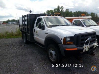 2005 Ford F450 Flatbed Trucks  Trailer FORD F450 J.J. Kane Auctioneers 22521 on CraneNetwork.com