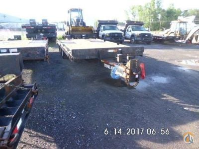 2007 Trail King TK24LP Flatbed Trucks  Trailer TRAIL KING TK24LP J.J. Kane Auctioneers 23425 on CraneNetwork.com
