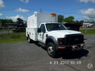 2008 Ford F450 Service  Utility Trucks FORD F450 J.J. Kane Auctioneers 23175 on CraneNetwork.com