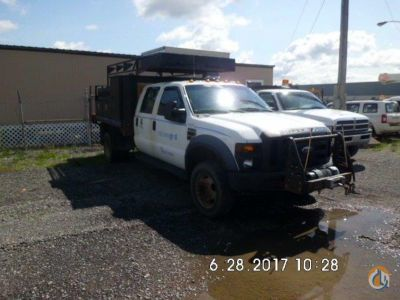 2008 Ford F550 4x4 Flatbed Trucks  Trailer FORD F550 4x4 JJ Kane Auctioneers 22546 on CraneNetworkcom