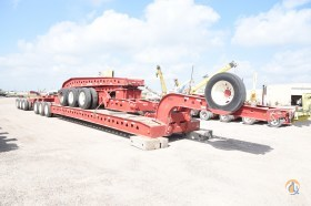 1993 Trail King TK200MDG 13 Axle Trailer Hydraulic Platform Trailers TRAIL KING TK200MDG Taylor Crane amp Rigging 21662 on CraneNetworkcom