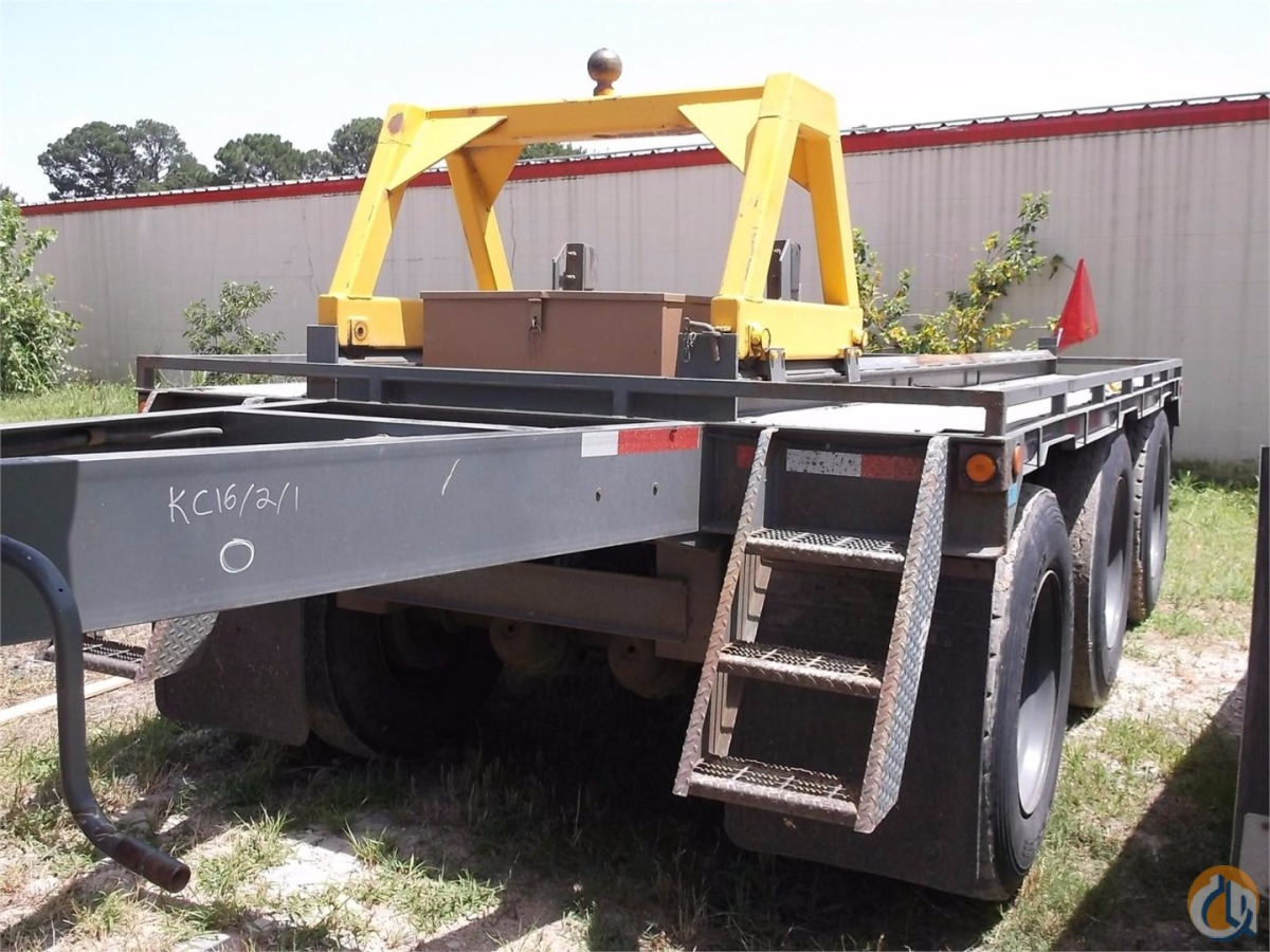2006 CUSTOM BUILT Trailers CUSTOM BUILT 11R24.5 North Texas Crane 187 on CraneNetwork.com