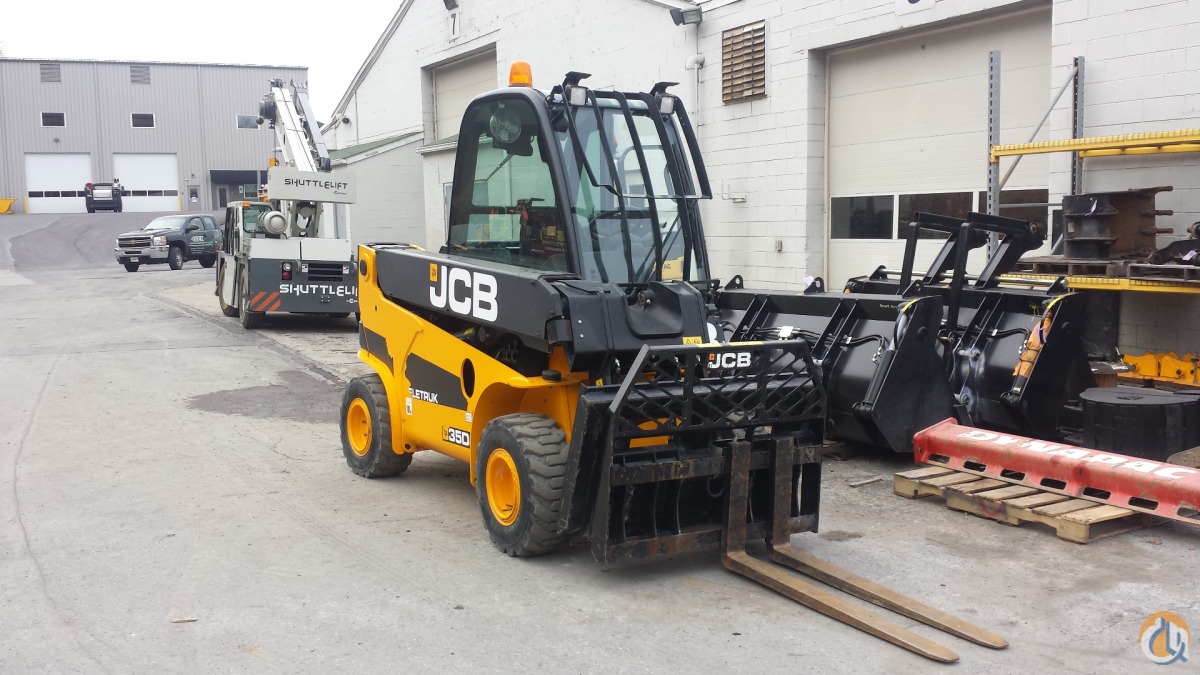 2014 JCB TLT35D Telescopic JCB TLT35D Stephenson Equipment Inc. 305 on CraneNetwork.com