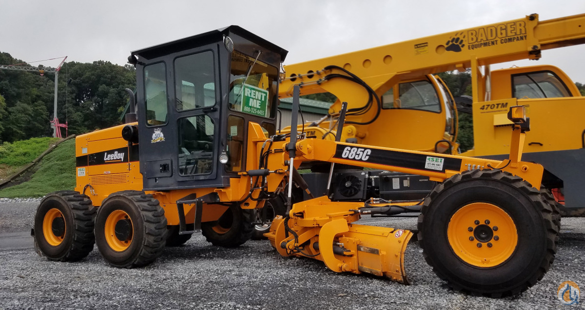 2014 LeeBoy 6915LKE Motor Graders LEEBOY 685C Stephenson Equipment Inc 16309 on CraneNetworkcom