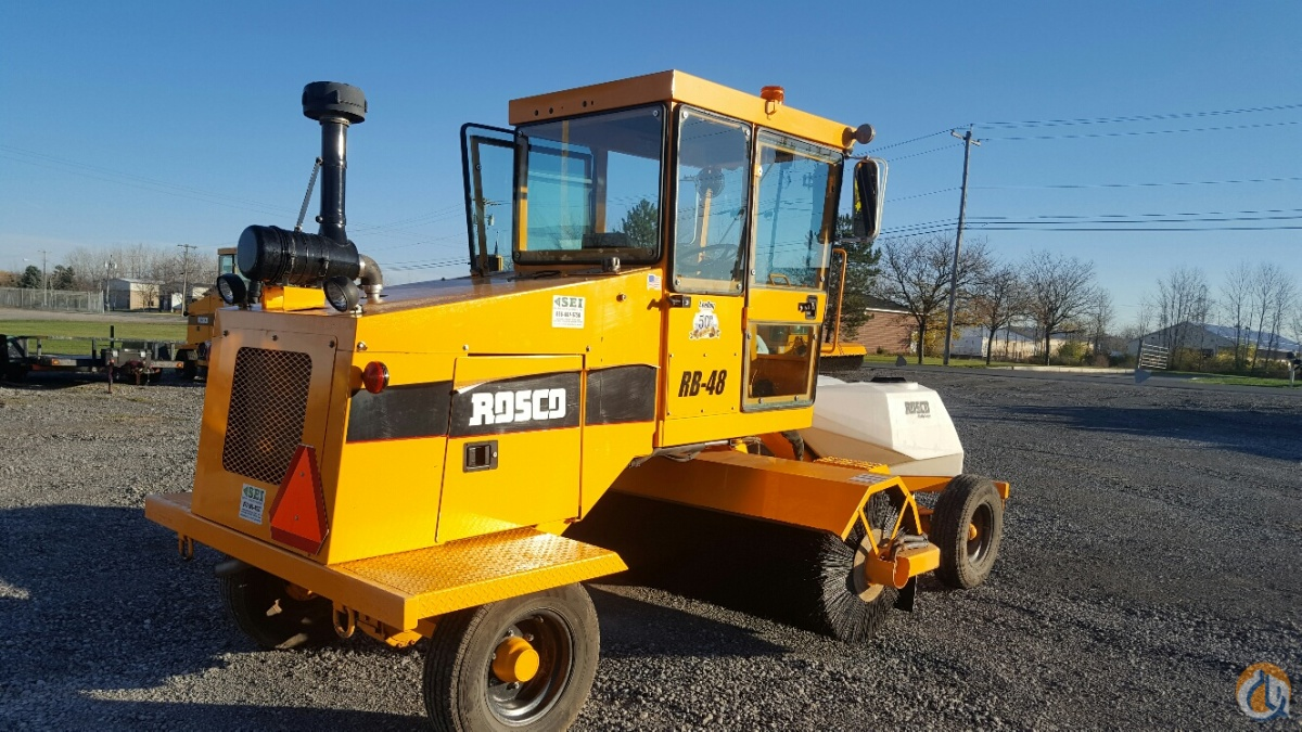 2014 Rosco RB48A Sweepers  Broom Equipment ROSCO RB48 Stephenson Equipment Inc. 18299 on CraneNetwork.com