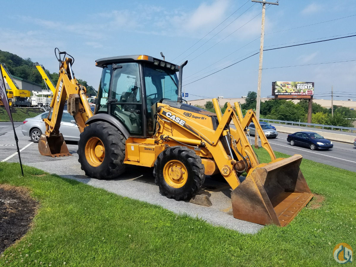 Case 580 Super M  Series II Loader Backhoes CASE 580SM PLUS II Stephenson Equipment Inc 23718 on CraneNetworkcom