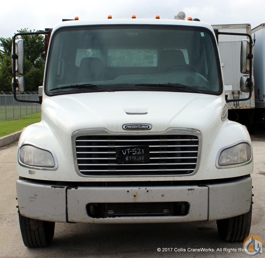 Used 2007 Freightliner Business Class M2 106 flatbed truck Flatbed Trucks  Trailer FREIGHTLINER BUSINESS CLASS M2 106 CraneWorks Inc. 23840 on CraneNetwork.com