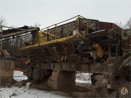 1980 El Jay 7X20 Screen EL JAY 7x20 Big D Heavy Equipment 188 on CraneNetworkcom