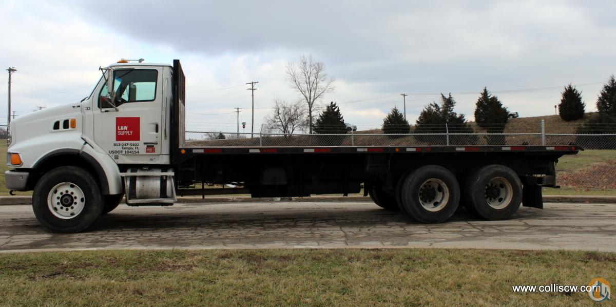 Used 2005 Sterling LT9513 flatbed truck Flatbed Trucks  Trailer STERLING LT9513 CraneWorks Inc. 23836 on CraneNetwork.com