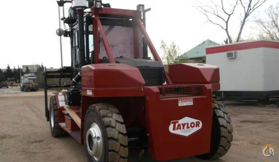 2015 Taylor TXH360L Mast TAYLOR TXH360L Cropac Equipment Inc. 16349 on CraneNetwork.com
