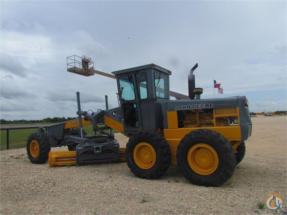 1985 DEERE 670A M01189 Motor Graders DEERE 670A Lambert International LP 21650 on CraneNetwork.com