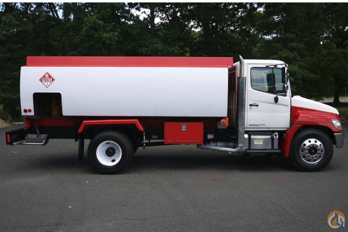 8825 - 2010 HINO 338 2009 TRANS-TECH ALUMINUM FUEL TANK 2800 GAL Tank Trucks  Trailers HINO 338 Opdyke Inc 11746 on CraneNetworkcom