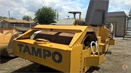 1982 Tampo RS166A Smooth Drum TAMPO RS166A Big D Heavy Equipment 284 on CraneNetwork.com