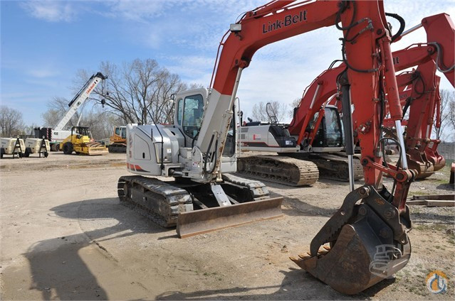 2010 LINK-BELT 80SB Crawler LINK-BELT 80SB Rexco Equipment Inc 21980 on CraneNetwork.com