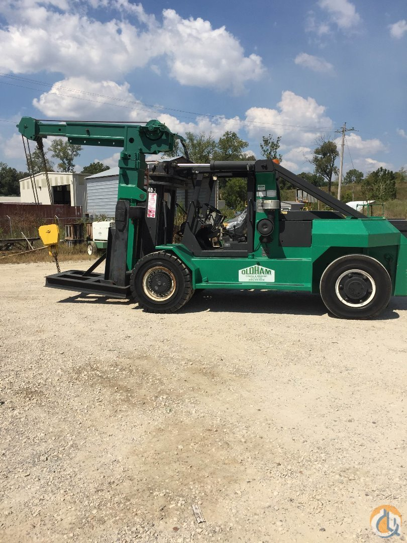 Special 40K Riggerlift with extra counterweights to 50K and extra 20 ft ext. forks Mast TAYLOR TE-40-30 Oldham Construction Company LLC 16360 on CraneNetwork.com