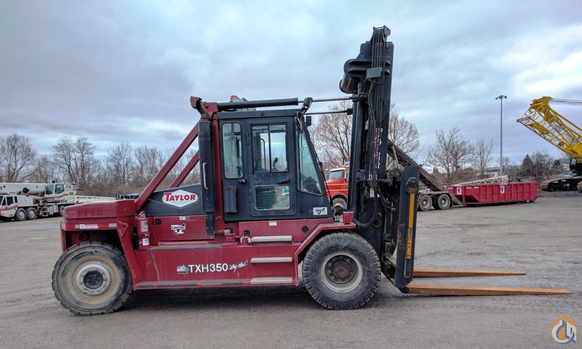 2015 Taylor TXH360L Mast TAYLOR TXH360L Cropac Equipment Inc. 16350 on CraneNetwork.com
