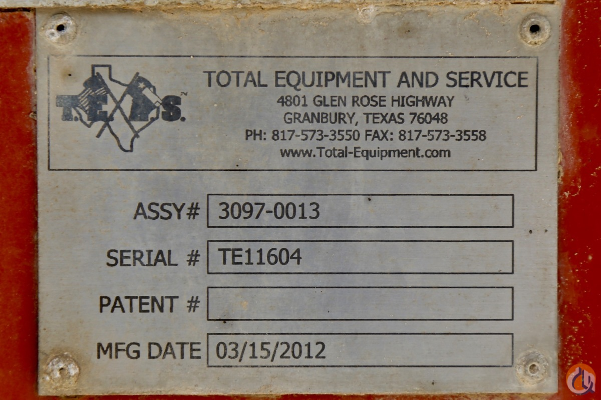 Used Total Equipment  Service 2-inch coiled tubing unit Oilfield Trailers TOTAL EQUIPMENT  SERVICE Coiled tubing unit CraneWorks Inc 22140 on CraneNetworkcom