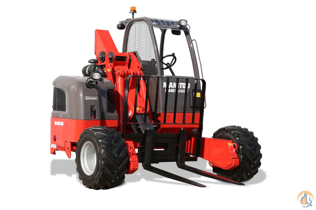 New 2017 Manitou TMT 55 HT 4W all-terrain truck mounted forklift Telescopic MANITOU TMT55HT4W CraneWorks Inc. 23866 on CraneNetwork.com