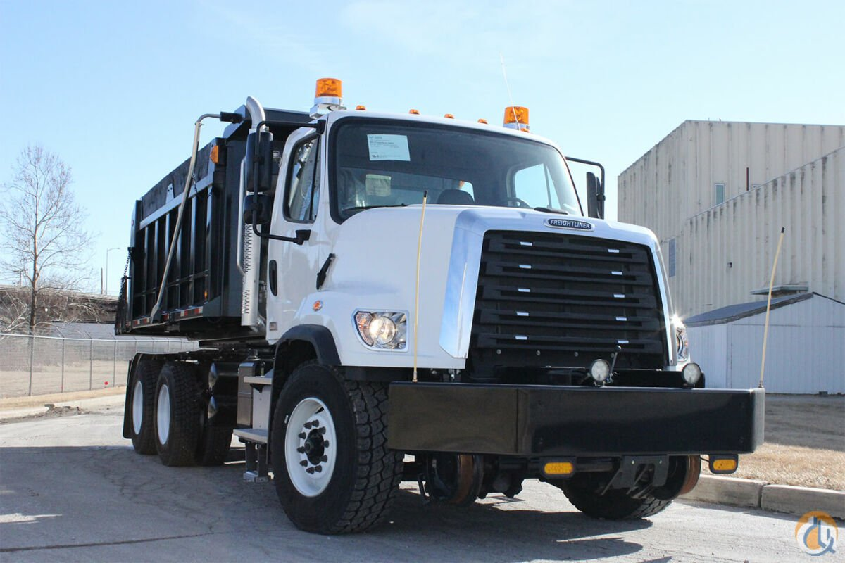 2016 Freightliner 108SD roto-dump truck with hi-rail package ... on