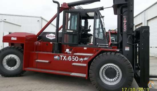 2015 taylor txi650l mast taylor txi650l cropac equipment inc 16351 rh cranenetwork com Big Red Fork Lift Taylor Taylor Forklift Model 330M