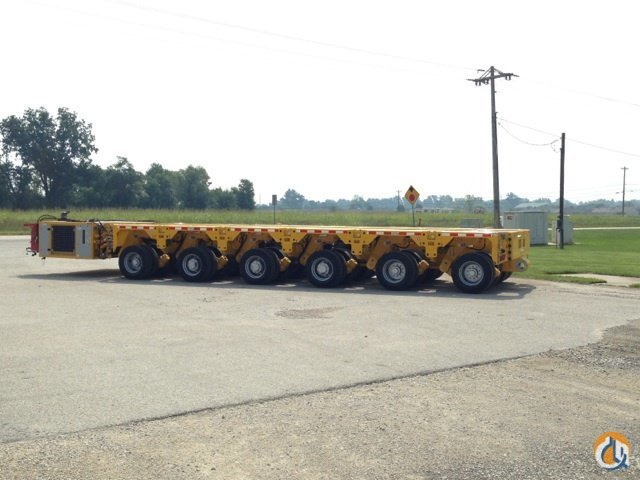 10 line SPMT Combination Hydraulic Platform Trailers SCHEUERLE Intercombi PB Sterett Equipment Company 16420 on CraneNetwork.com