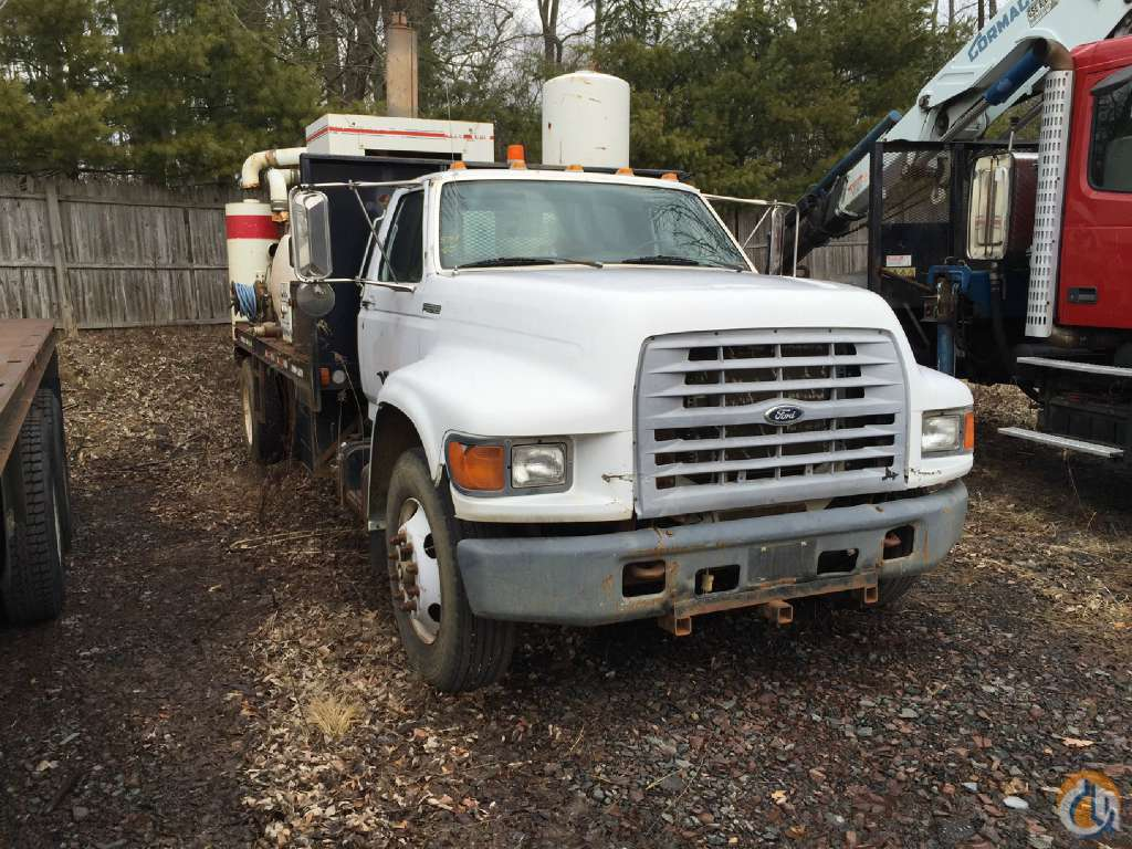 1999 FORD F800 8759 Vacuum Truck  Trailers FORD F800 Opdyke Inc. 280 on CraneNetwork.com