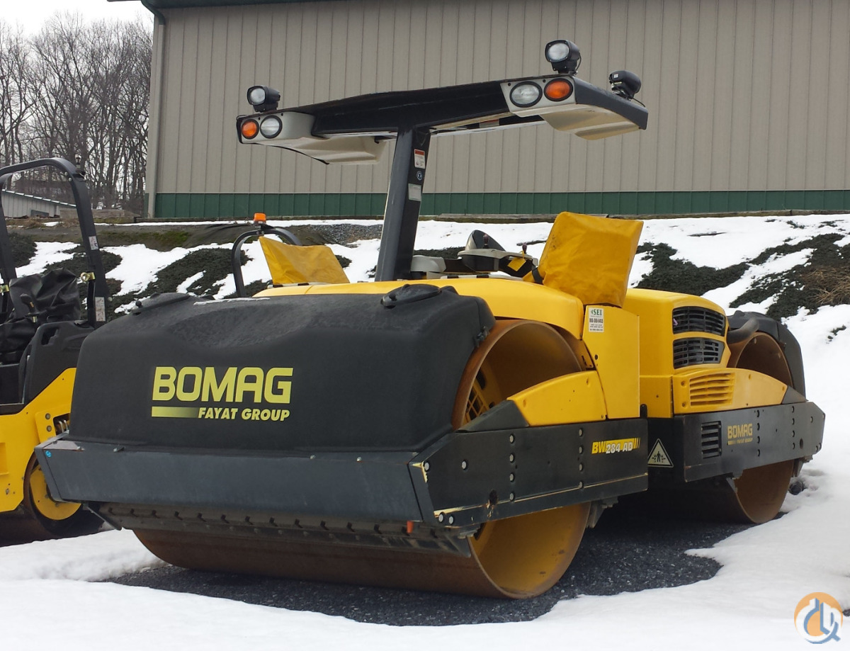 2012 BOMAG BW284AD Smooth Drum BOMAG BW284AD Stephenson Equipment Inc. 292 on CraneNetwork.com