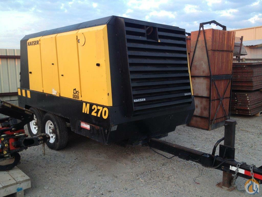 2007 Kaeser Mobilair M270  Air Compressors KAESER M270 Collavino Group 22122 on CraneNetworkcom
