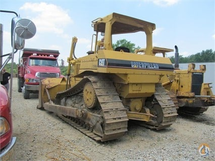1991 Caterpillar D6H Crawler CATERPILLAR D6H Big D Heavy Equipment 149 on CraneNetwork.com