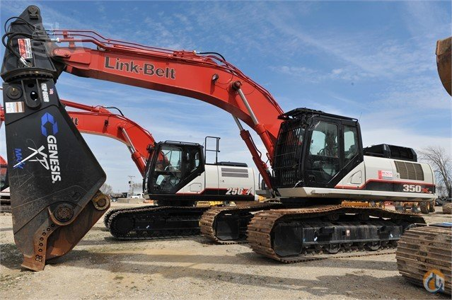 2012 LINK-BELT 350 X3 Crawler LINK-BELT 350 X3 Rexco Equipment Inc 21982 on CraneNetwork.com
