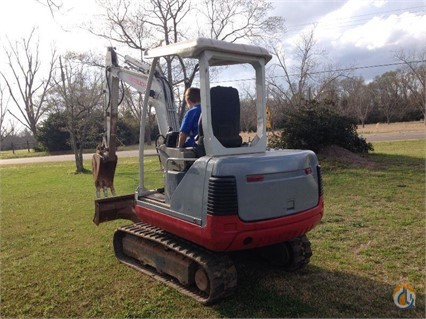 2008 Takeuchi TB175 Crawler TAKEUCHI TB175 Big D Heavy Equipment 363 on CraneNetwork.com
