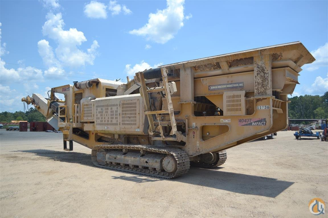SCREEN MACHINE 4043T Crusher SCREEN MACHINE 4043T Henderson Auctions 23730 on CraneNetwork.com
